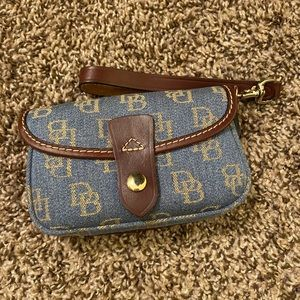 Dooney & Bourke Denim Wristlet